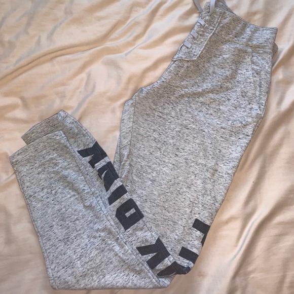 Love pink sweat pants
